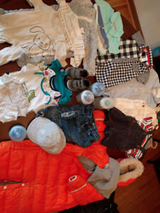 Used baby boy clothes 0 - 9 months