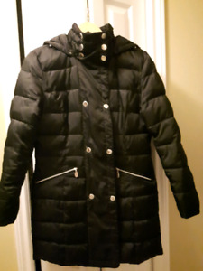 Ladies down filled coat