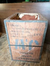 Vintage Tea Chest Assam Tea Company 1975