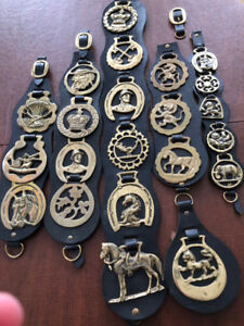 Horse Lovers' Collectables - brass medallions