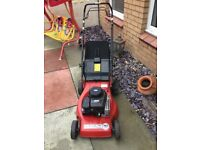 PETROL MOWER SELF PROPELLED £85