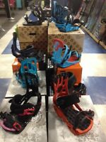 NEW SNOWBOARD BINDINGS