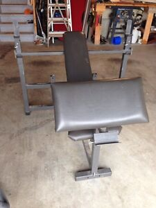 Heavy duty made in the USA para body/squat bench
