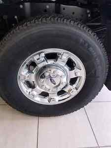 Brand new f350 rims and tires