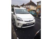 Pco car for rent- Toyota Prius 2013 62reg available leather seats t-spirit only £140 a week