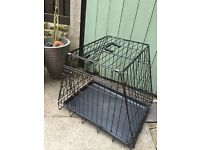 Dog car crate- 2 door