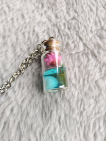Bottle on necklace - Brand new!