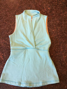Turquoise lululemon tank - size 4 (or would fit size 2)