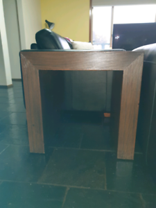 Dark Wood Side Table