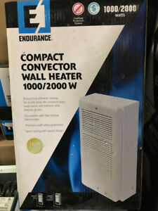 Endurance Compact Convector Wall Heater