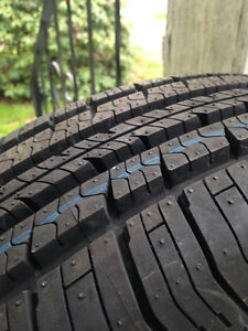 TWO NEW P185/65R15 Aeolus Touring Ace A/S + 2 used on rims