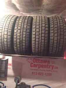Winter tires 275 /60 r20
