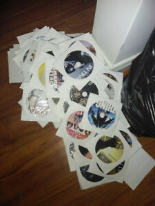 Thousands of burned dvds only 75$