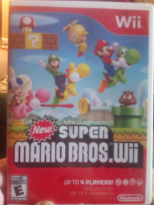 Super mario bros for the WII