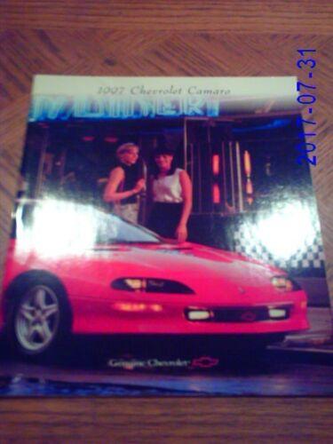 1997  Chevrolet  Camaro   Sales  Catalog