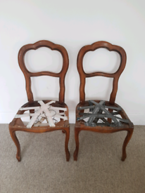 Two Gorgeous Vintage Chairs