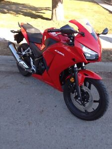 2015 cbr300r ABS with 1 year extended warranty until next year