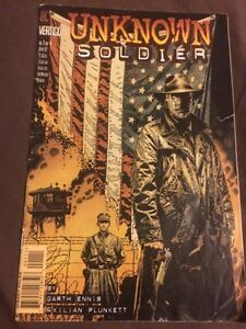 Unknown Soldier 1990s comic book $5