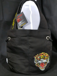 Ed Hardy By Christian Audigier NIA Tiger Tote Shoulder Bag -NEW