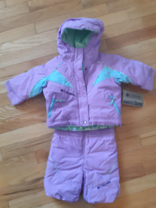 Brand New Columbia Snowsuit Size 6 Months With Tags