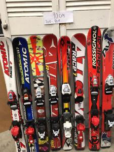 Ski alpin junior 80-90-100-110-120-130-140-150cm GArs-fille 50$+
