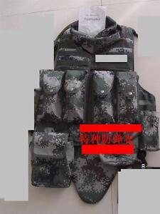 07-039-s-series-China-PLA-Special-Forces-Woodland-Digital-Camo-Bullet-Proof-Clothes