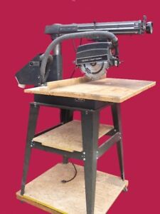 "10"" Radial Arm Saw and Accesories"