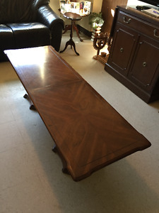 Solid wood coffee table  REDUCED