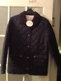 Girls quilted jacket (new)