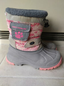 Girl's Winter Boots -  Size 5 Youth