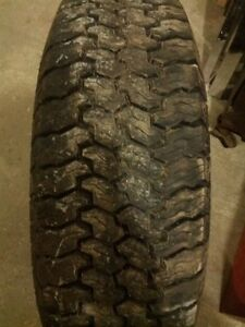 "30 inch x 15"" rims mud tires used for two months"