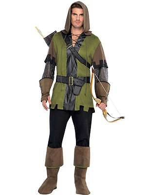 Mens Robin Hood Prince of Thieves 90s Book Day Week Fancy Dress Costume Outfit](Robin Hood Prince Of Thieves Costume)