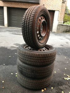 SummerTires with Rims 185/60R/15