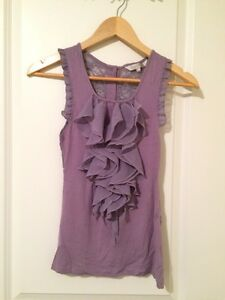 Costa Blanca purple floral top small