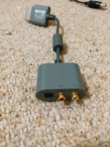 Xbox 360 Turtle Beach/Stereo Adapter