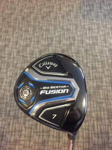 Callaway Fusion Women's 7 wood used once Right Handed