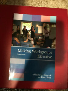Making Workgroups Effective