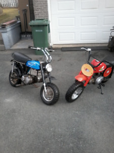 Looking  To Buy  Old Small Motor Bikes and Mini Bikes