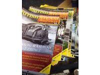 Rail steam magazines
