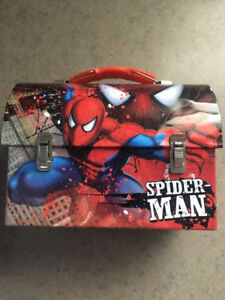 Tin Spider-Man lunch box (small)