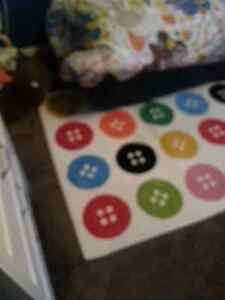 Colorful children's rug.