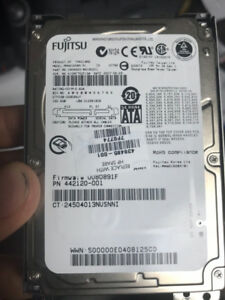 160GB Notebook Hard Drive