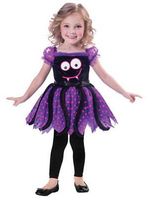 Girls Cute Spider Fancy Dress Costume Halloween Insect Animal Toddler Infant Kid ()
