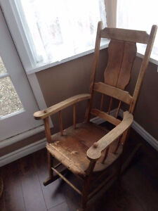 Antique Acadien Chair! VERY RARE VERY GORGEOUS!