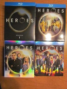 HEROES  Blu ray complete series I-2-3-4