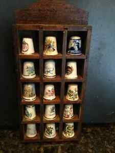 Fine bone china thimbles