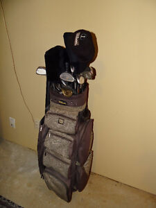 Golf Clubs & Wilson golf Bag