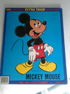 Mickey thick puzzle