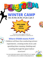 Winter & PA Day Camp - Lower Price!