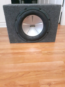 12' subwoofer with amp for sale